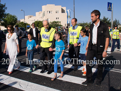 Pres. Peres Opens the School Year at Jerusalem's 'Peace School'